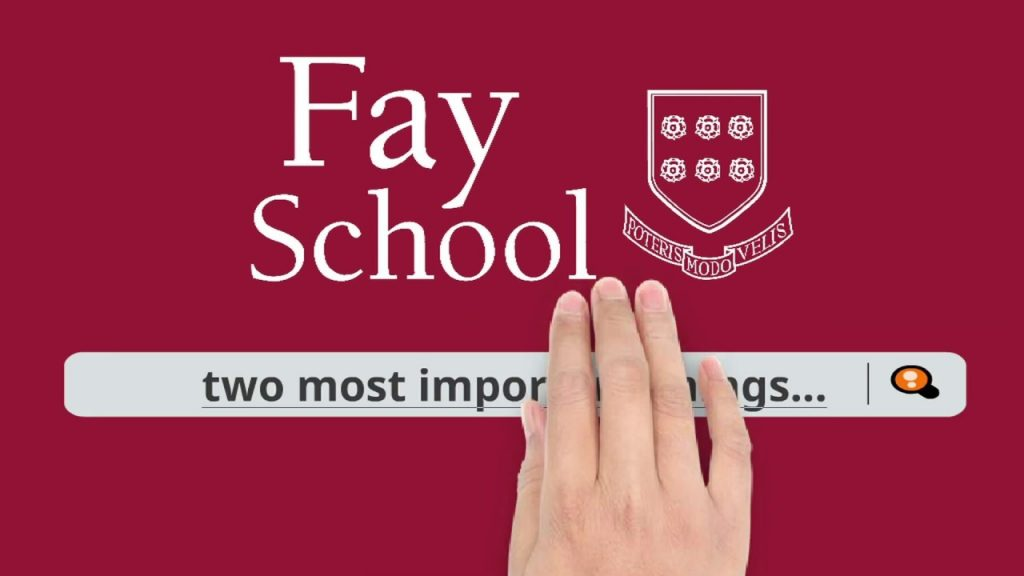Financial aid video and how to apply for it at Fay School