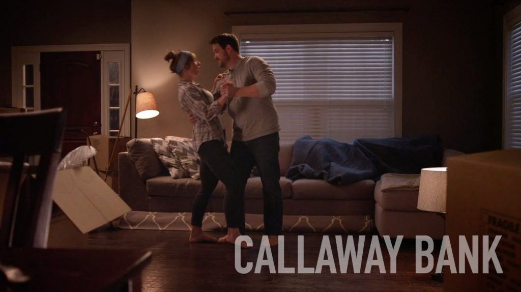 The Callaway Bank First Dance Commercial